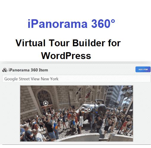 iPanorama 360° - Virtual Tour Builder for WordPress